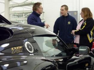 Lotus Drivers Club Visits Lotus Silverstone
