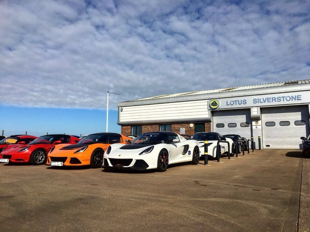 Showroom Lotus Silverstone